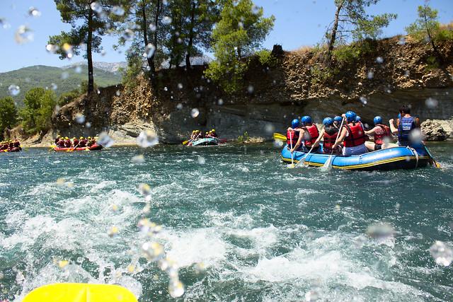Rafting, Türkiye