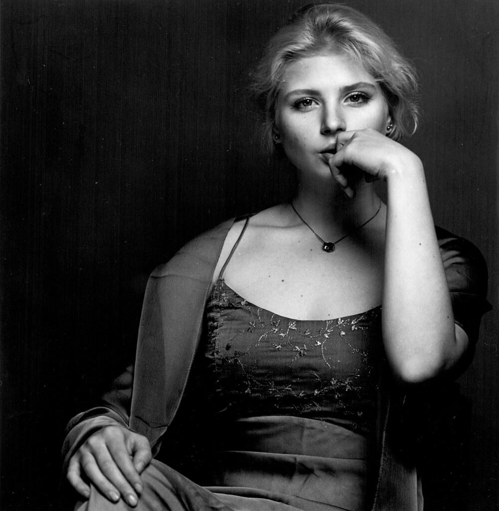 Anastasia, studio portrait, Moscow