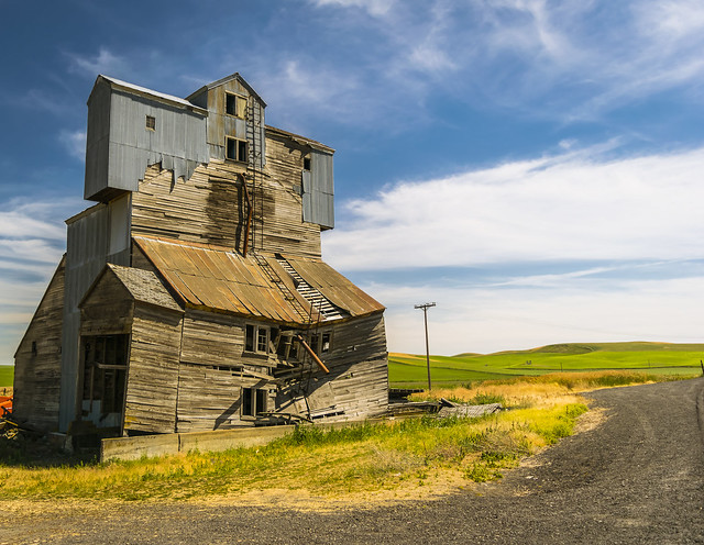 Abandoned Granary, The Palouse