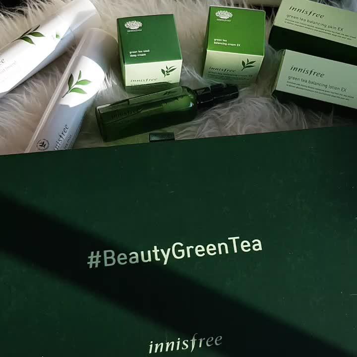 2018 RENEWED GREEN TEA LINE
