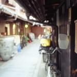 Kyoto Nisijin_35DC(京 西陣三上家 長屋路地)