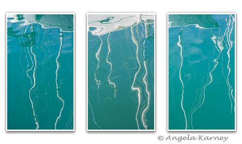 Marina reflections tryptich