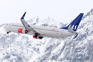 LN-RGI SAS Scandinavian Airlines System B737-800 Innsbruck