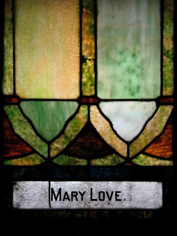 Mary Love.