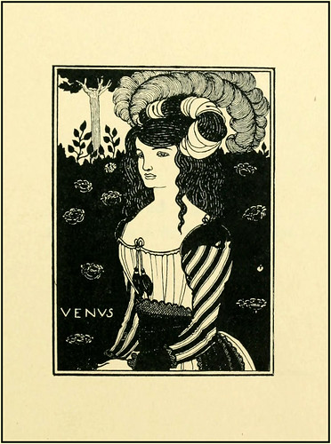 "Aubrey Beardsley ""Venus"" 1899 The Early Work of Aubrey Beardsley - Title Page (modified) 
