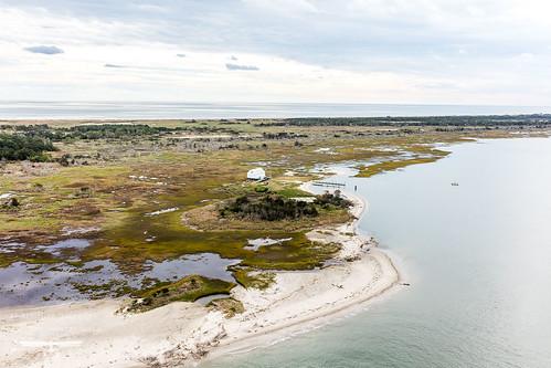 aerial parramoreisland seaside tnc tnc2018islandphotography ataltitudegallery esva natureconservancy sunrise virginia