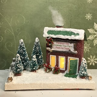 Evergreen Hills Christmas Tree Farm   by christmasnotebook