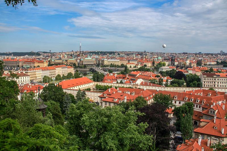 布拉格城堡俯瞰市區 2