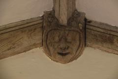 wooden head (15th Century)