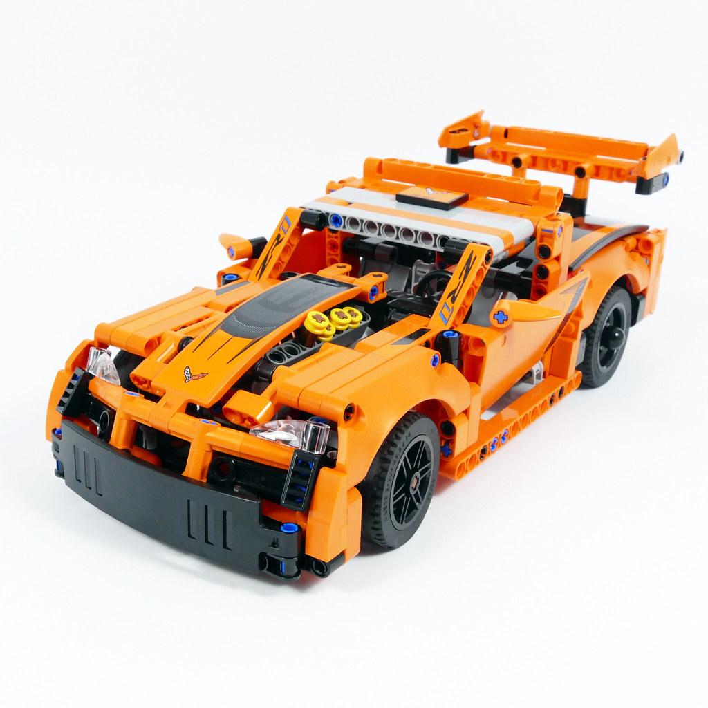Racing Pickup - LEGO Technic 42093 C Model