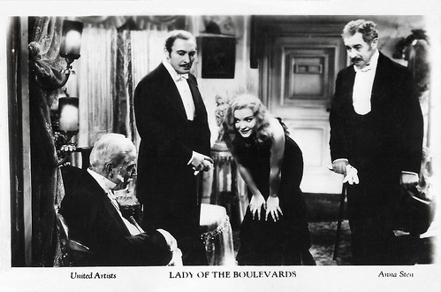 Lionel Atwell, Anna Sten and Richard Bennett in Nana (1934)