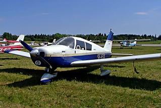 SE-EIX  Piper PA-28-180 Cherokee B [28-1684] Stockholm-Barkarby~SE 07/06/2008