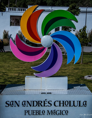 2018 - Mexico - Cholula - Goodbye