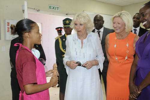 The Duchess of Cornwall visits The Derrick Smith School & Vocational Centre (12)   by barbadosgovernmentinformationservice