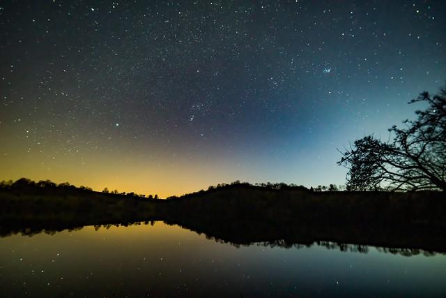 Nachthimmel über dem Totenmaar