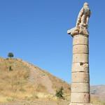 The eagle column, Karakuş Tumulus, Kingdom of Commage, Turkey