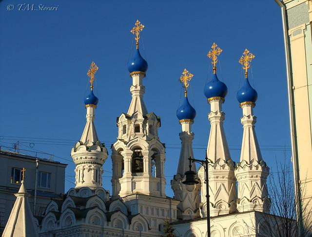 Nativity Church at Putinki/Храм Рождества Пресвятой Богородицы в Путинках, Moscow, Russia