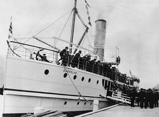 TSS Earnslaw after launching, 1912