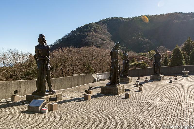 Las cuatro estatuas de Emile-Antoine Bourdelle