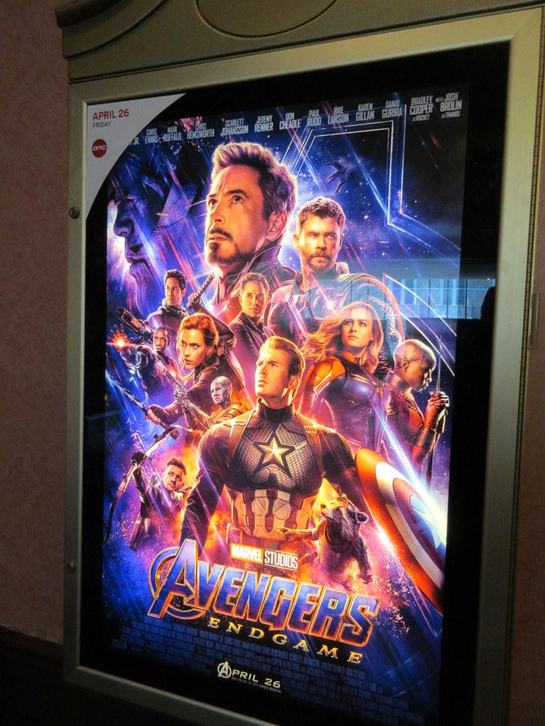 Avengers Endgame Theater Lobby Poster Nyc 4796 Avengers En Flickr