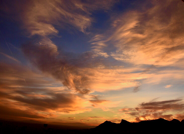 Another spectacular sunset in Granada