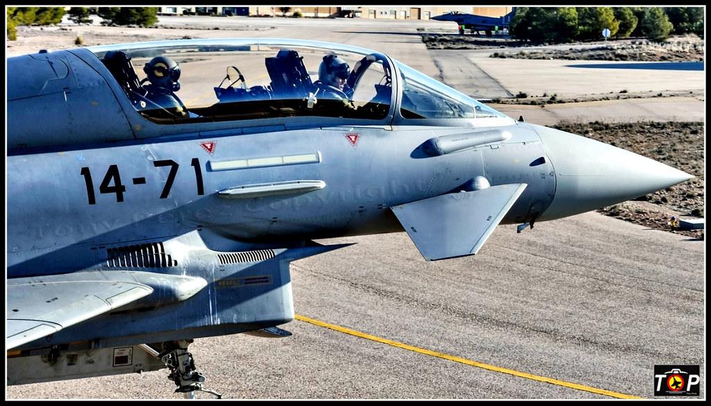 Eurofigther Base Aerea Los Llanos Antonio Perez Flickr