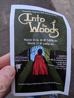 Into the Woods at HRHS | by Dogtrax