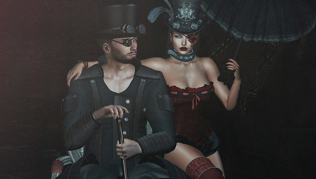 Old style steampunk