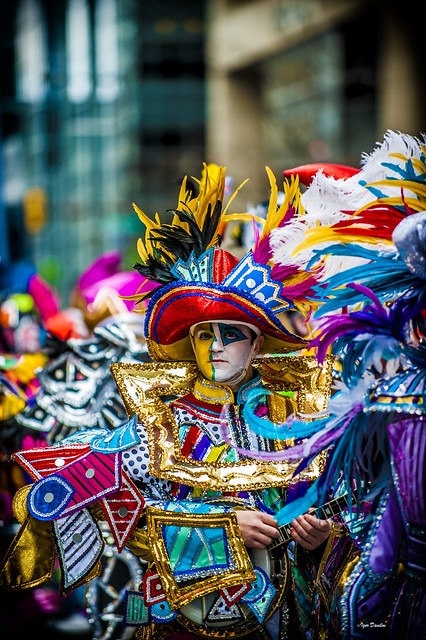 Mummer With the Banjo.