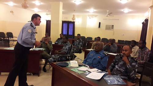 UNAMID trains Sudan police officers on protection of civilians in West Darfur | by UNAMID Photo