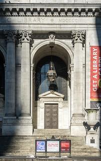 New York City / Public Library   by Aviller71