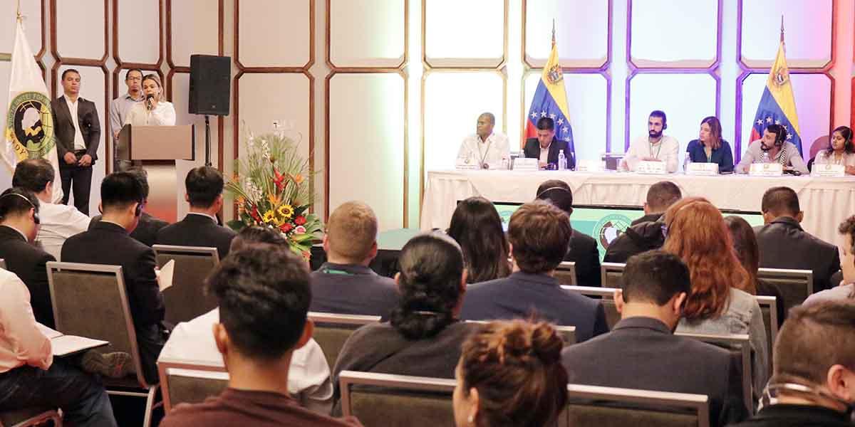 Venezuela como epicentro de paz con la instalación de la Conferencia de la Federación Mundial de Juventudes Democráticas