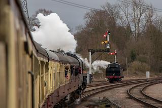 British Railways Std 5 - 73156 & Jinty - 47406 | by timz2011