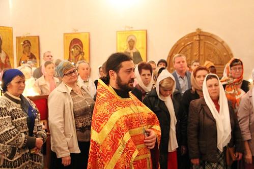 Пасхальное Богослужение в Свято-Никольском храме станицы Кавказской IMG_1457