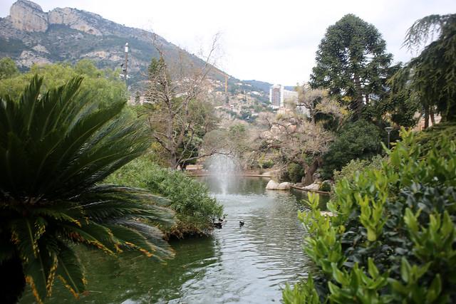 Park beside Monaco Heliport