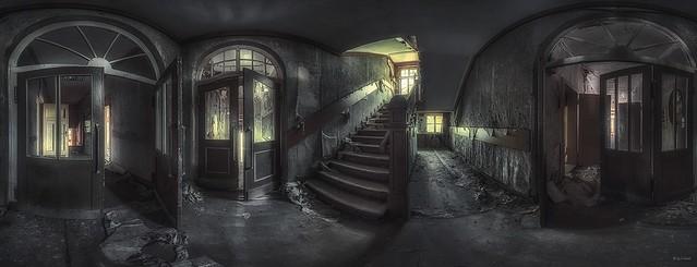 die geheime Villa des Kommandanten