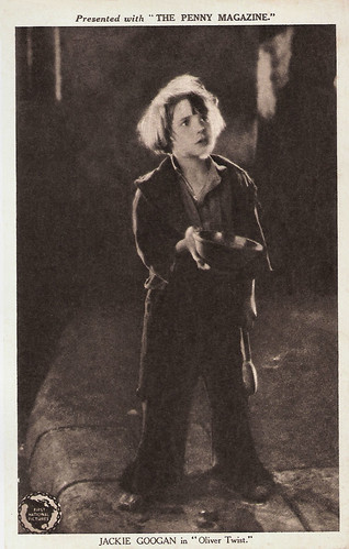 Jackie Coogan in Oliver Twist (1922)