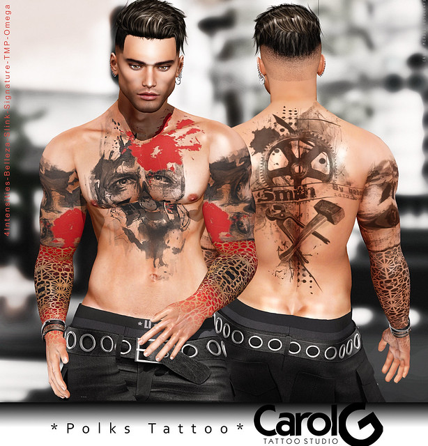 Polks Male Tattoo [CAROL G]