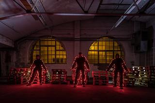 EMD #356 - Three Red Lightmen