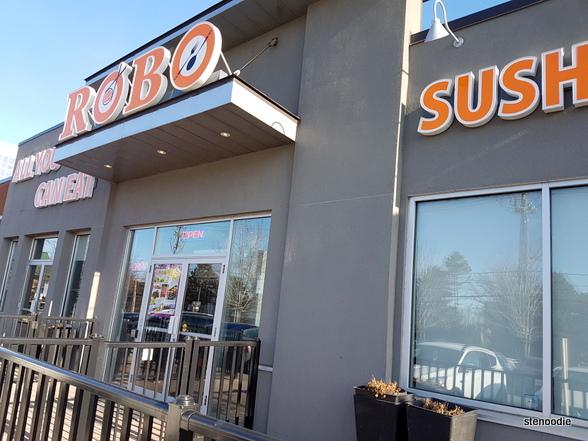 Robo Sushi storefront