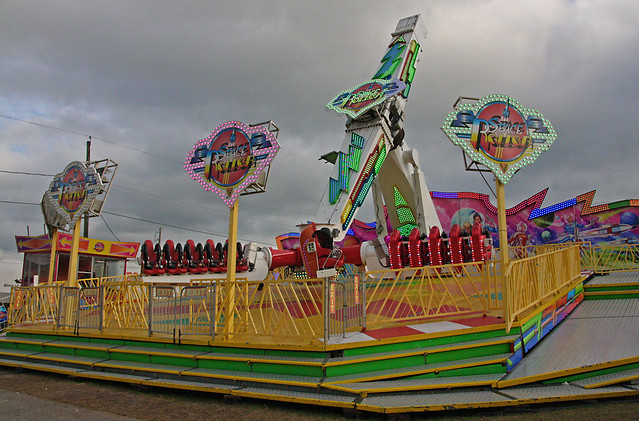 Space Roller, 2019 Plant City FL Strawberry Festival (1 of 2)