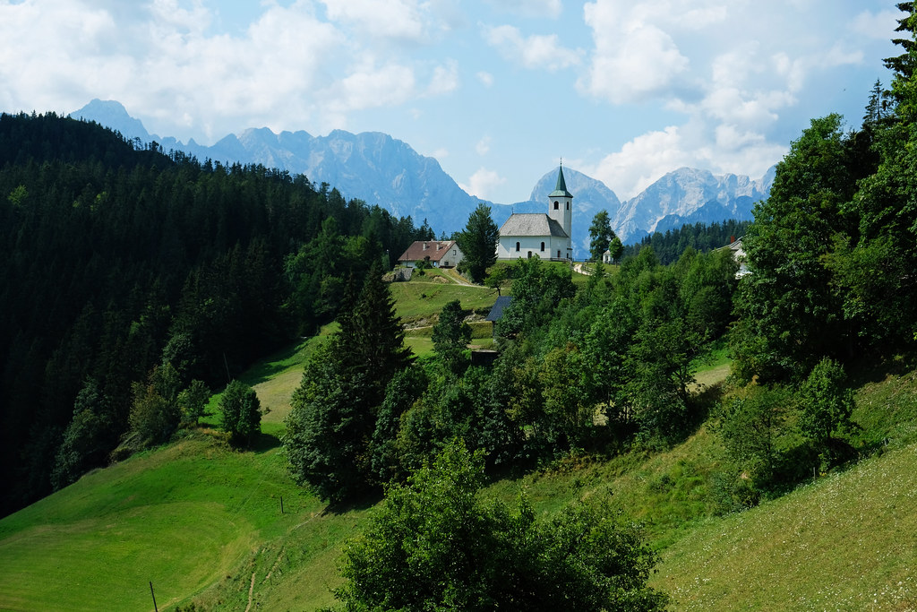 Church of Holy Spirit, Logar Valley, Slovenia