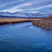 Owens River and The Sierra Crest by Jeff Harshaw