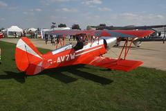 G-AVZW EAA Biplane [PFA 1314] Sywell 010918