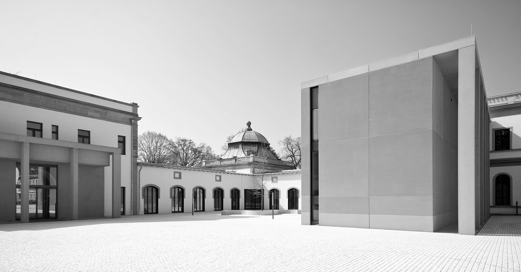 ... Luipoldbad / Bad Kissingen II (schwarz Weiß) | By Splitti68