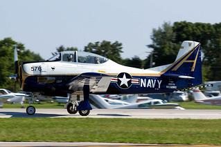 N289RD  (NX289RD / 140576) North American T-28C Trojan [226-153] (Ex United States Navy) Oshkosh-Wittman Regional~N 30/07/2008