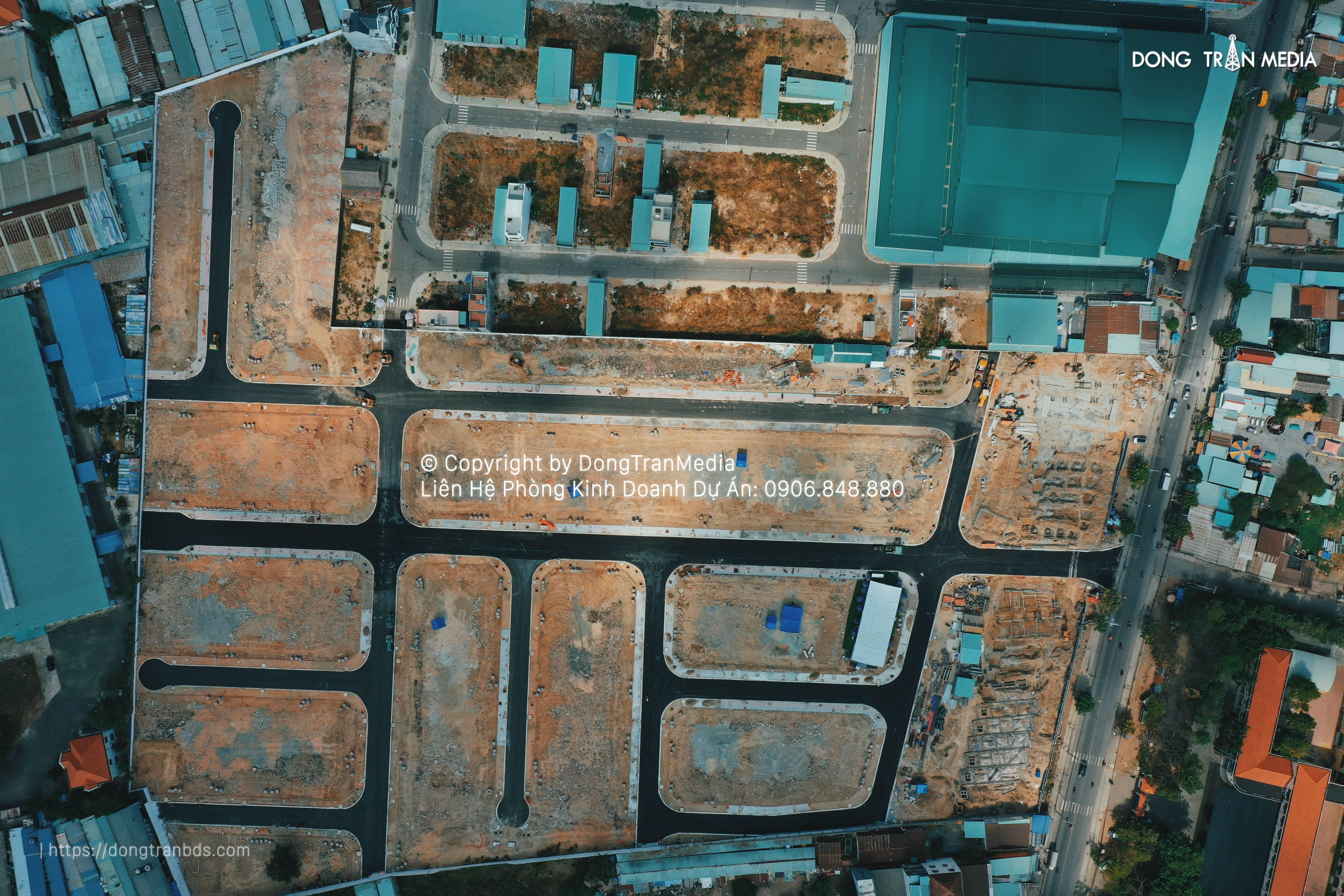 Flycam dự án Lộc Phát Residence