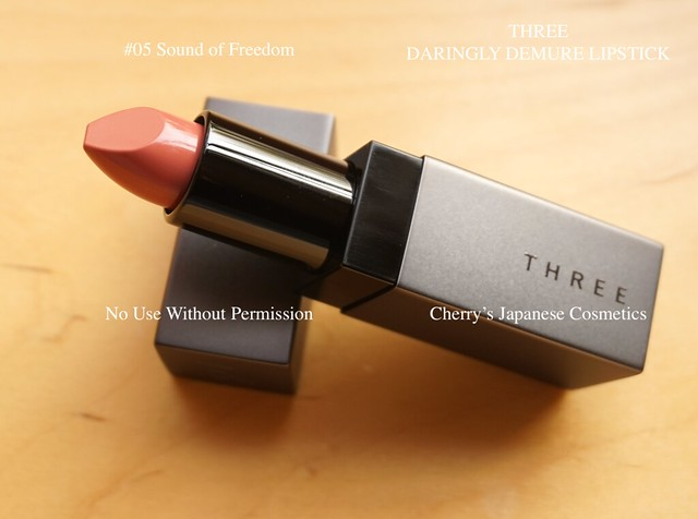 Three demure lipstick