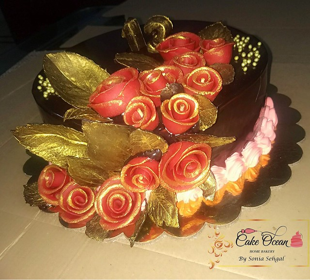 Anniversary Cake from Cake Ocean by Sonia Sehgal