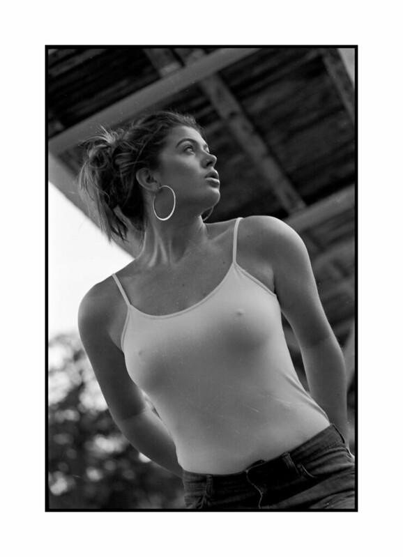 35mm Kodak TMax 400 Portrait